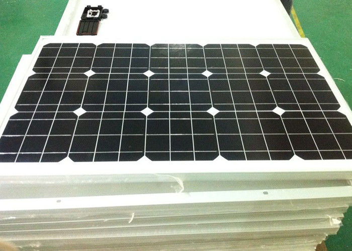 0.5 V Monocrystalline Sunpower Solar Panel 18.6 % Efficiency OEM Acceptable